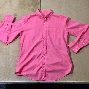 BONOBOS Saltwater Washed Pastel Magenta L/S Shirt
